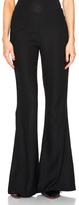 Acne Studios Mello Flare Pants in Black.