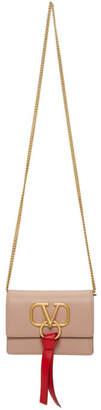Valentino Pink Garavani VRing Chain Bag
