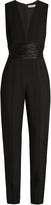 A.L.C. Beni ruched-waist crepe jumpsuit