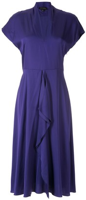 Alcaçuz Clarice flutter-detail dress