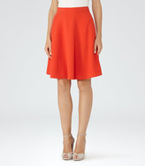 Reiss Hannah A-Line Mini Skirt