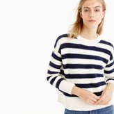 J.Crew Textured striped sweater