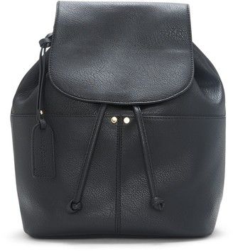 Sole Society Women's Noemi Backpack Vegan Leather Black One Size From