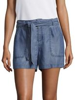 Saks Fifth Avenue Tie-Up Seamed Shorts