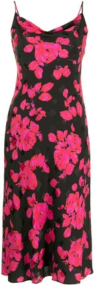 Milly Katie floral print shift dress