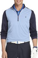 Izod Golf Textured Quarter-Zip Pullover