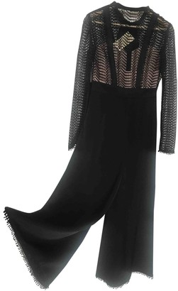 Temperley London Black Silk Jumpsuits