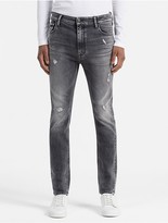 Calvin Klein Jeans Skinny Tapered Faded Black Jeans