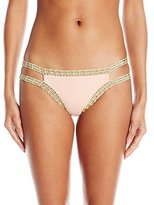 Bikini Lab Women's Weaving On A Jet Plane Hipster Bikini Bottom