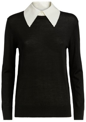 Claudie Pierlot Peter Pan-Collar Sweater