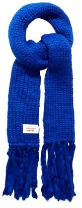 Charles Jeffrey Loverboy Super Massive Oversized Wool-blend Scarf - Blue