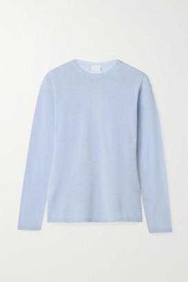 Max Mara Leisure Astice Wool Sweater - Light blue