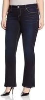 SLINK Jeans Bootcut Jeans in Dark Blue