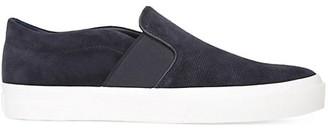 Vince Fenton Suede Slip On Sneakers