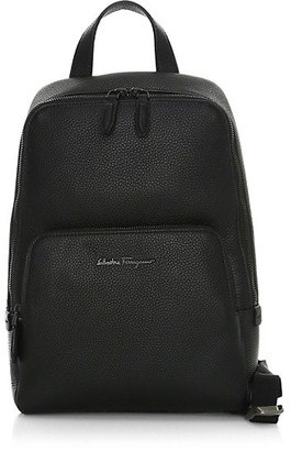 Salvatore Ferragamo Firenze Leather Sling Backpack