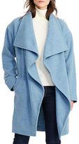 Lauren Ralph Lauren Draped Merino Wool Blend Jacket