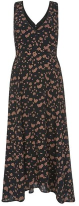 Mint Velvet Erin Print Pinafore Midi Dress
