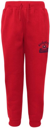 Outerstuff Youth Red Washington Capitals Pro Game Fleece Sweatpants