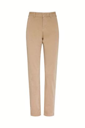 Gerard Darel 7-8 Straight-cut Stretch Cotton Pants