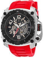 Elini Barokas 20027-01-BB-RDS Men's The General Prime Automatic Red Silicone