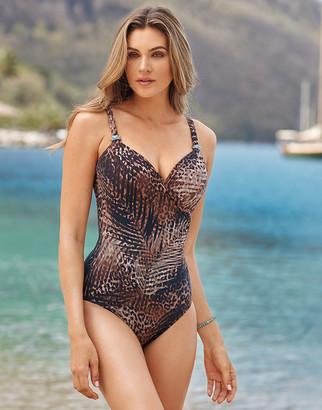 Miraclesuit Tigris Siren Firm Control Swimsuit