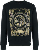 Billionaire Baroque printed jumper