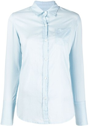 Nili Lotan Long-Sleeved Cotton Shirt