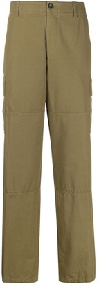 Lanvin mid-rise wide-leg cargo trousers