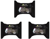 Garnier Skin Skinactive Clean Plus Purifying Oil-Free Cleansing Towelettes (Pack of 3)
