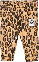 Mini Rodini Leopard Print Baby Leggings