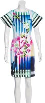 Clover Canyon Abstract Print Mini Dress