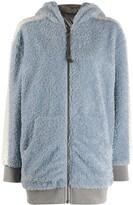 Mr & Mrs Italy hooded shearling coat