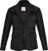 Moncler Ardenne layered quilted-down coat