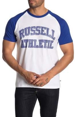 Russell Athletic Contrast Raglan Tee