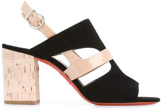 Barbara Bui cut-out detail sling-back sandals