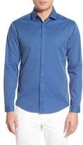 Vince Camuto Men's Slim Fit Print Sport Shirt