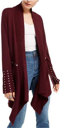 INC International Concepts Inc Studded Cardigan Sweater