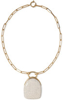 Isabel Marant Gold-tone Ceramic Necklace - one size