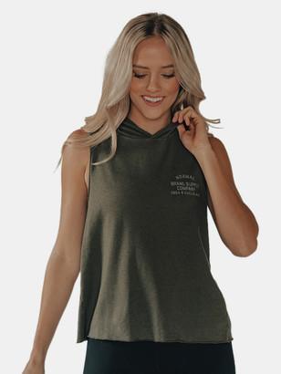 The Normal Brand Women's HQ Tank Hoodie