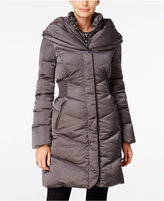 T Tahari Pillow-Collar Hooded Puffer Coat