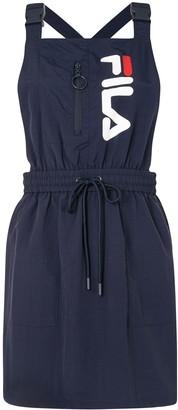Fila Logo-Print Pinafore Dress