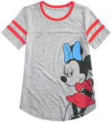 Disney Big Girls Minnie Mouse Football T-Shirt