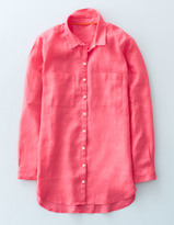 Boden The Longer Length Linen Shirt