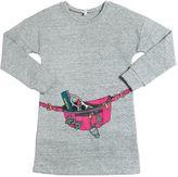 Little Marc Jacobs Printed Cotton Sweatshirt Dress