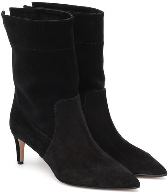 RED Valentino RED(V) suede ankle boots