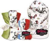 "Trend Lab Dr. Seuss ""The Cat in the Hat"" 10-pc. Hooded Towel, Washcloth and Burp Cloth Set by"