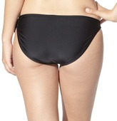 Xhilaration Junior's Hipster Swim Bottom -Black