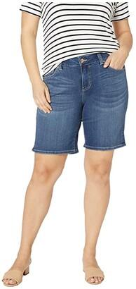 Jag Jeans Carter Girlfriend Shorts (Mystic) Women's Shorts
