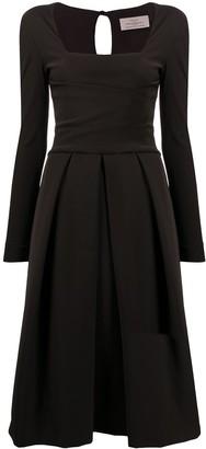 Preen by Thornton Bregazzi Satin Midi Dress