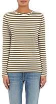 Barneys New York Women's Striped Cotton Jersey Long-Sleeve T-Shirt